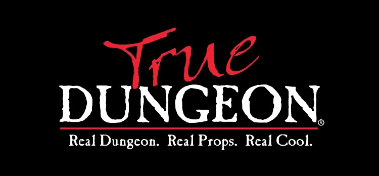 True Dungeon Logo
